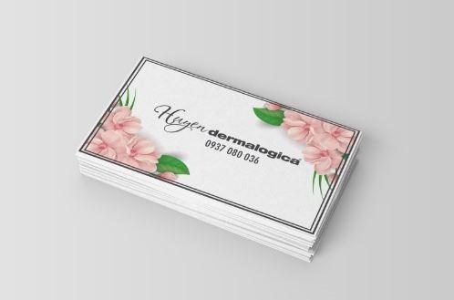 In name card dermalogica