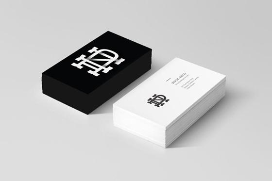 In name card visit Tân Bình